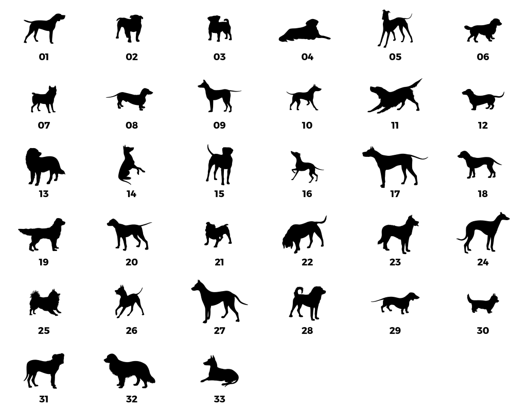 silhouette option dogs from remembering woody